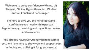 liz stewart hypnotherapist author mindset coach