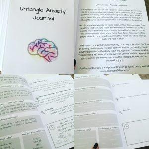 Untangle Anxiety Journal Internal