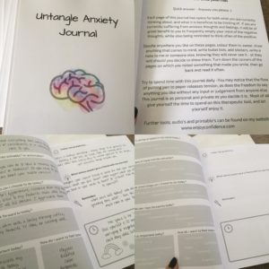 Untangle Anxiety Journal
