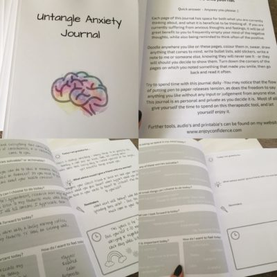 Untangle Anxiety Journal
