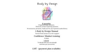 Body by design weight loss offer