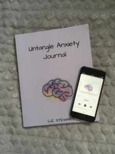 Untangle Anxiety Journal and Hypnosis Audio